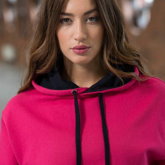 AWDis JH003 Varsity hoodie dame