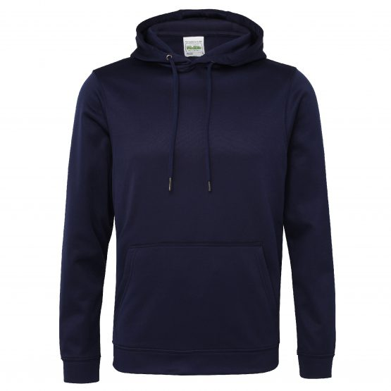AWDis JH006 Sports Polyester Hoodie Oxford Navy
