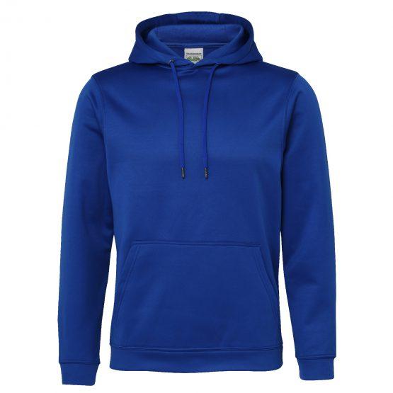 AWDis JH006 Sports Polyester Hoodie Royal Blue