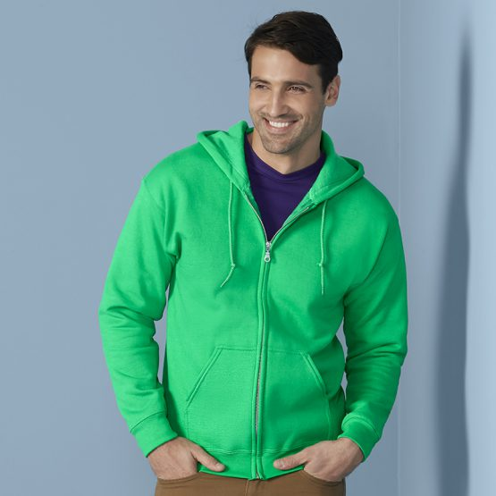 Gildan Heavy Blend Full Zip Hoodie Sweater 18600