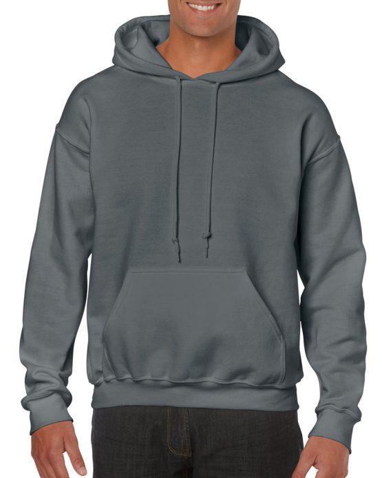 Gildan Heavy Blend Hooded Sweatshirt 18500 Charcoal