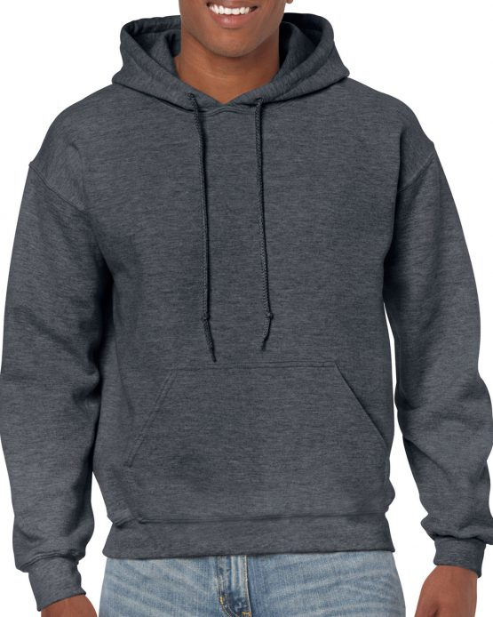 Gildan Heavy Blend Hooded Sweatshirt 18500 Dark Heather