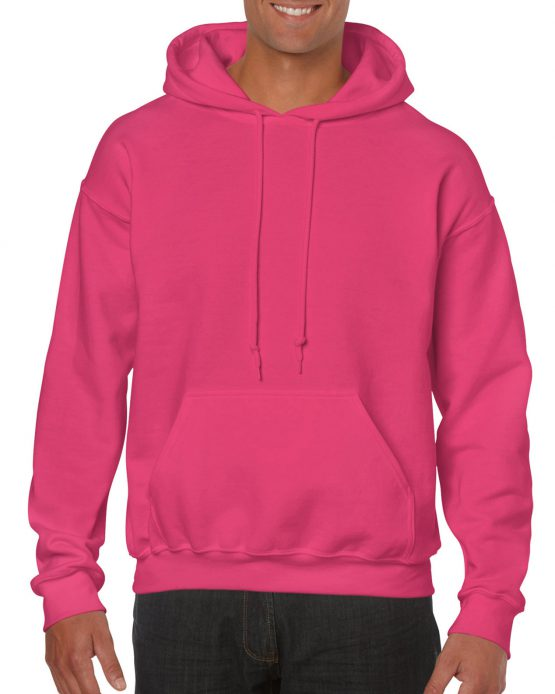 Gildan Heavy Blend Hooded Sweatshirt 18500 Heliconia