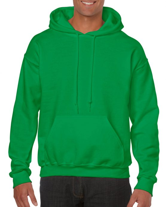Gildan Heavy Blend Hooded Sweatshirt 18500 Irish Green