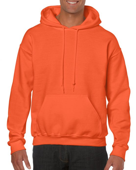 Gildan Heavy Blend Hooded Sweatshirt 18500 Orange