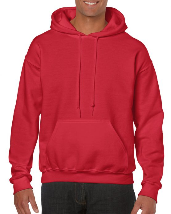 Gildan Heavy Blend Hooded Sweatshirt 18500 Red