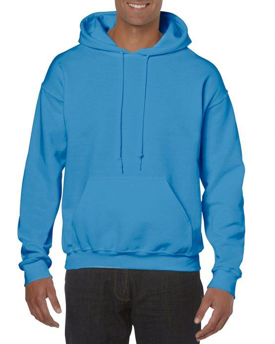 Gildan Heavy Blend Hooded Sweatshirt 18500 Sapphire Blue