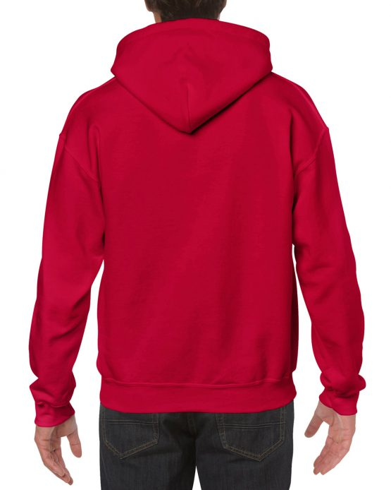 Gildan Heavy Blend Hooded Sweatshirt 18500 achterkant