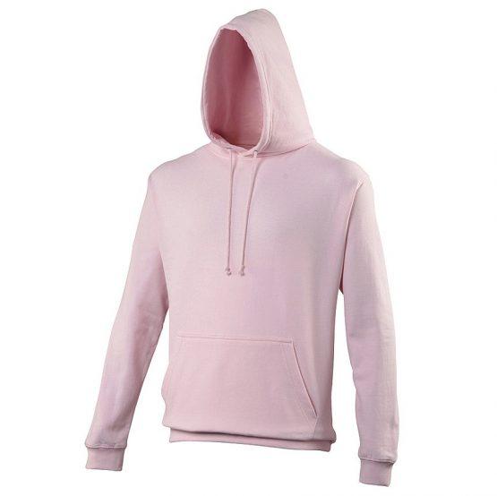 AWDis JH001 College Hoodie Baby Pink