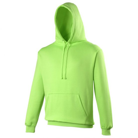 AWDis JH004 Electric Hoodie Electric Green
