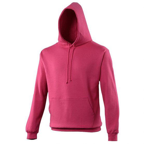 AWDis JH001 College Hoodie Hot Pink