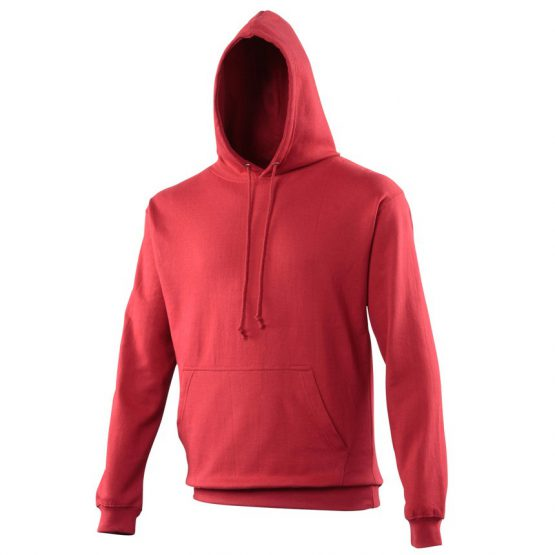 AWDis JH001 College Hoodie Red Hot Chilli