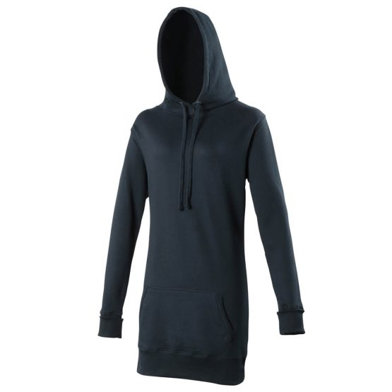 AWDis JH005 Girlie Longline Hoodie New French Navy