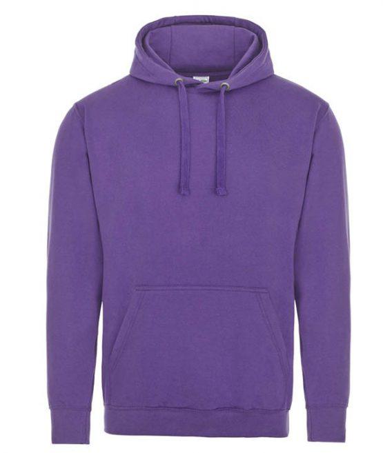 AWDis Just Hoods Supasoft Hoodie JH002 Supa Purple