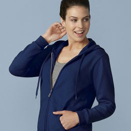 Gildan Heavy Blend Ladies Full Zip hoodie 18600FL