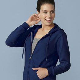 Gildan Heavy Blend Ladies Full Zip hoodie 18600FL